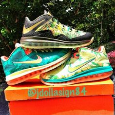 new product 782ce 1d60f Nike lebron 9, 10 low palmers.