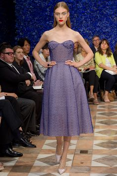 Hedvig Palm in Christian Dior Fall 2012 Couture - my favourite look in the collection.