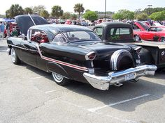 1957 OLDSMOBILE with continental kit