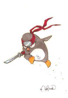 """L'angolo del Pinguino oggi ospita l'incredibile Angela """"Gumitien"""" Vianello, fumettista della Shockdom. Il nostro Capitano ha ben ragione di definirla una """"maestra""""."""