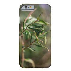 Funda con fotografía de planta verde funda de iPhone 6 barely there