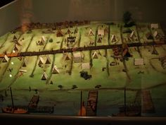 Diorama of a Viking camp (Ribe Museum)