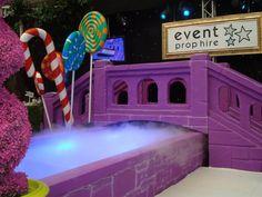 Willy Wonka Chocolate Factory Bridge