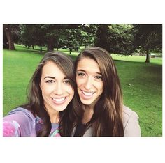 Colleen and Rachel (her sister) they are so pretty!