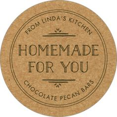 Create personalized Vintage Kraft Large Circle Labels to add a special touch. guarantee on Canning Labels! Cheese Packaging, Cookie Packaging, Food Packaging Design, Soap Packaging, Packaging Ideas, Flower Packaging, Canning Jar Labels, Canning Recipes, Printable Recipe Cards