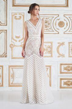Tadashi Shoji bridal fashion week: http://www.stylemepretty.com/2017/05/02/tadashi-shoji-spring-2018-bridal-week/
