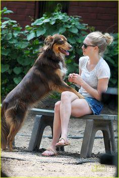 Amanda Seyfried & Finn...<3