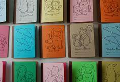 I loved making little notebooks as a kid. I still love notebooks.