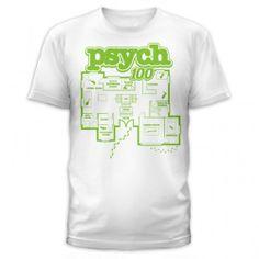 Psych 100 Clues Floor Plan T-Shirt