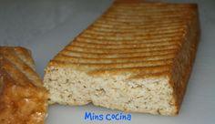Mins cocina: Bizcocho de avena y yogur al aroma de vainilla