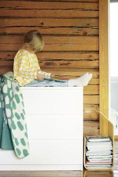 Kauniste blanket in Pinjacolada blog. Home Design Diy, House Design, Studio Interior, Inspired Homes, Home Decor Accessories, Blanket, Blog, Furniture, Blogging