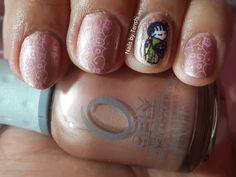 Nails by Tenshi: Reto Técnicas: Estampado #Geisha #NailArt #Orly
