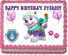 Hey, I found this really awesome Etsy listing at https://www.etsy.com/listing/232889104/paw-patrol-everest-edible-cake-topper