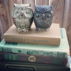 owls represent my Nana. I always see them as a sign, so thanks Gwen for posting :)