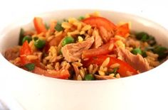 Tuna rice stir-fry recipe - goodtoknow