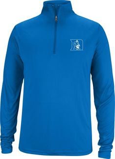 quality design cbf26 7a187 Top of the World Men s Duke Blue Devils Duke Blue Quarter-Zip Top