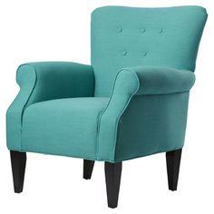 Found it at Wayfair - Delia Neon Button Back Arm Chair