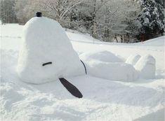 Twitter / cozy_maria: 雪国のスヌーピー。.:*☆ ...