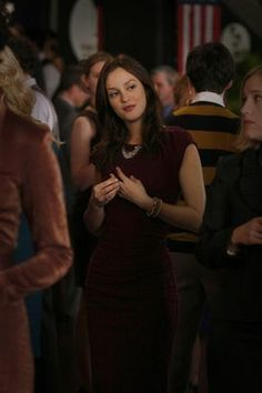 Blair Waldorf- Gossip Girl (Victoria Bechkam dress)