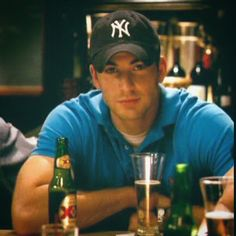 Chris Evans.  I would die if I had a neighbor who looked like that! Movie Nanny Diaries