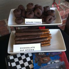 Car themed party - food