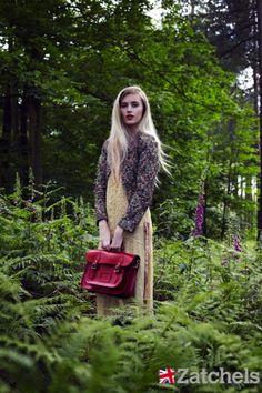 Photo Shoot for Zatchels (British Heritage)     Photography - Tamara Oughtred  Model - Natasha Morris