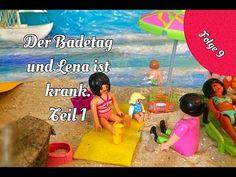 Playmobil Film deutsch Der Badetag und Lena ist krank. Teil 1 - YouTube