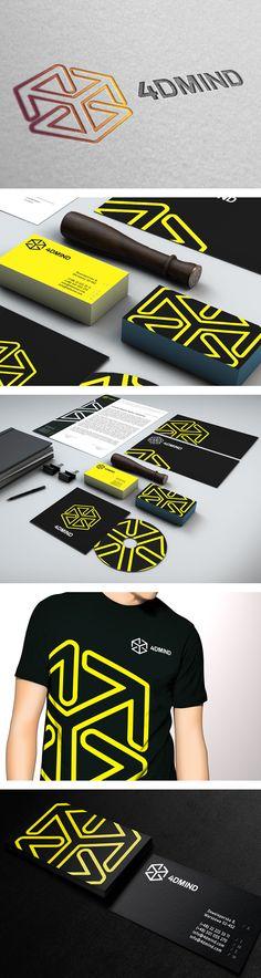 4DMIND identity by Elastika | #stationary #corporate #design #corporatedesign #identity #branding #marketing < repinned by www.BlickeDeeler.de | Visit our website: www.blickedeeler.de/leistungen/corporate-design