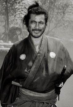 Japanese Film, Japanese Artists, Usagi Yojimbo, Toshiro Mifune, Samurai Armor, Musashi, Tough Guy, Nihon, Pose Reference