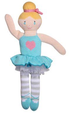 Zoe Ballerina Handkit Cotton Doll | Zubels