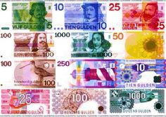 Dutch money before the Euro. Good Old Times, The Good Old Days, Old Money, Biro, Sweet Memories, My Memory, Vintage Posters, Childhood Memories, Netherlands