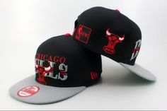 NBA Chicago Bulls Snapback Hats Caps Black  2332|only US$8.90