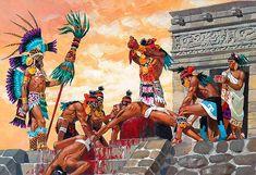 """""""Sacrificio ritual azteca"""""""