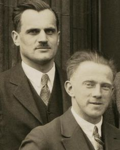 Dirac and Heisenberg Heisenberg, Nobel Prize In Physics, People Who Help Us, Healthy Baby Food, Manhattan Project, Aging Parents, Higher Learning, Academy Of Sciences, Wedding Function