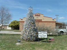 Junction TX | Junction, TX : Junction, Texas - Deer Horn Christmas Tree photo ...