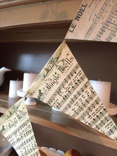 Sheet music banner.