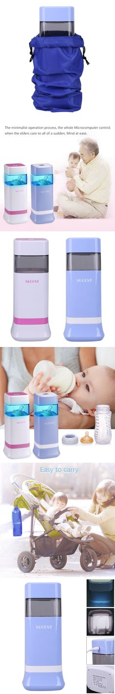 1 Pc Portable Milk Bottle Sterilizer Baby Pacifier Ultraviolet Sterilizing Tool Baby Milk Water Feeding Bottles Color Blue Pink