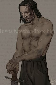 ASoIaF - The Hound by *Eeba-ism on deviantART