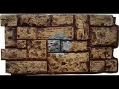 IMITACION DE PARED DE PIEDRA CON FACHALETA Mirror Mosaic, Roof Tiles, Green Art, Nativity, Decoupage, Diy And Crafts, Christmas Decorations, Texture, Stone