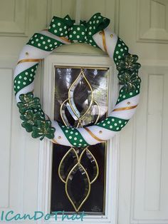 Implausibly Beautiful: St. Patrick's Day Wreath