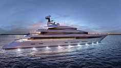 German shipyard Nobiskrug has been making naval ships for over a century, and its superyachts display the same steadfast craftsmanship and