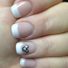 simple Disney Nail design.