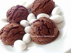 yetur'la lezzet kareleri: kakaolu - damla çikolatalı dondurma kurabiye