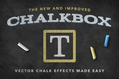 Chalkbox – Illustrator Actions by Sivioco on @creativemarket