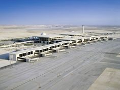 25 piores aeroportos do mundo - O Aeroporto Internacional Rei Fahd, na Arábia Saudita.