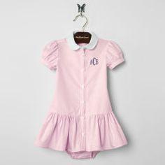 Baby Girl Oxford Dress - Create Your Own Dresses & Skirts - RalphLauren.com