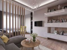 super Ideas for bedroom layout small room interior design Studio Apartment Divider, Studio Apartment Layout, Studio Apartment Decorating, Studio Apartments, Apartment Design, Small Room Interior, Condo Interior Design, Small Apartment Interior, Condo Design