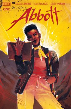 Saladin Ahmed: It's 1972. Elena Abbott is the only Black reporter at the Detroit Daily -- and the city's only hope against evil sorcery. ABBOTT #1 is out! Get it at your local comic shop, have it delivered, or buy an e-book.