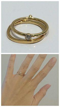 Goldene Vintage Ringe mit Kordeldesign romantische Eheringe