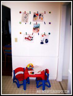 Playroom Wall Art: PB Kids Knock-Off ~ MAD IN CRAFTS
